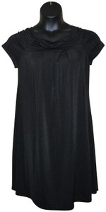 Mary McFadden Stretchy Shift Pullover Polyester Dress