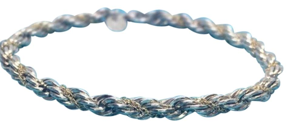 29993703e Tiffany & Co. Tiffany & Co. 18 Karat Yellow Gold and Sterling Silver Twist  ...