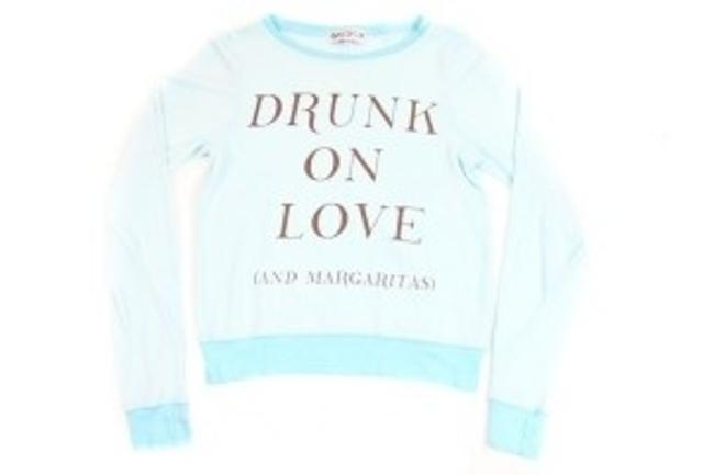 Preload https://img-static.tradesy.com/item/22720/wildfox-mint-jelly-drunk-on-love-and-margaritas-baggy-beach-jumper-sweaterpullover-size-4-s-0-0-650-650.jpg