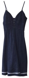 Jolt short dress Denim on Tradesy