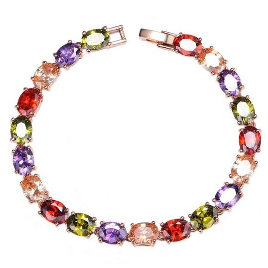 Other Swarovski Crystals The Kinsey Colorful Bracelet 6.5