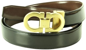 Salvatore Ferragamo Salvatore Ferragamo Reversible Dress Belt Kit