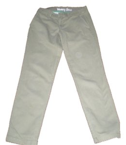 J.Crew Size 4 Straight Pants khaki green