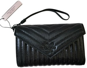 Victoria's Secret NEW Victoria's Secret V Metallic Crackle Phone Wallet Wristlet