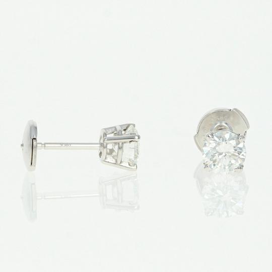 Wilson Brothers NEW Diamond Stud Earrings - 14k Gold La Pousette GIA Round Brilliant 1 Image 2