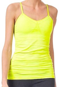 Sweaty Betty Sweaty Betty UK lime green workout tank. From the lulu lemon of London comes this gray high performance sweat wicking tank