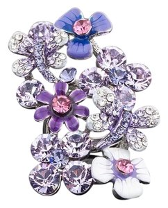 Other Swarovski Crystals The Lundy Flower Statement Ring S11