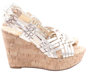 Juicy Couture Gold Wedges