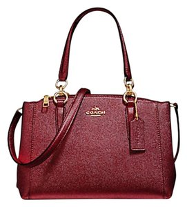 Coach Carryall 34797 36704 Christie Satchel in Red