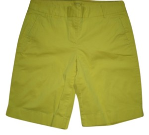 J.Crew Stretch Summer Chino Size 2 Cargo Shorts yellow