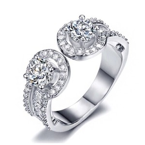 Other Swarovski Crystals The Annabelle Omega Ring S19
