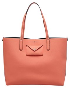 Marc by Marc Jacobs Leather Tote in spring peach multi