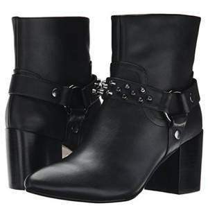 Report Signature Black Leather Boots