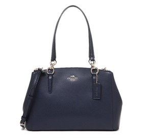 Coach Carryall 34797 36704 Christie Satchel in midnight blue