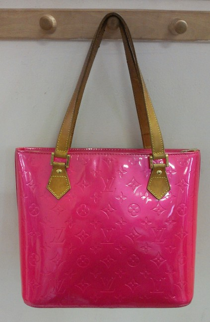 Item - Houston Vernis Hot Pink Patent Leather Tote