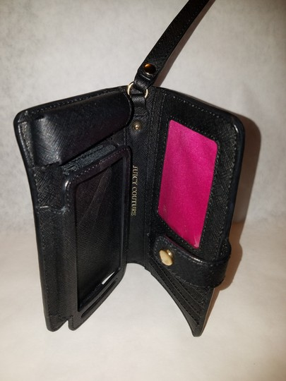 Juicy Couture Juicy couture iPhone 5/5s wallet phone case Black leather nwot Image 2