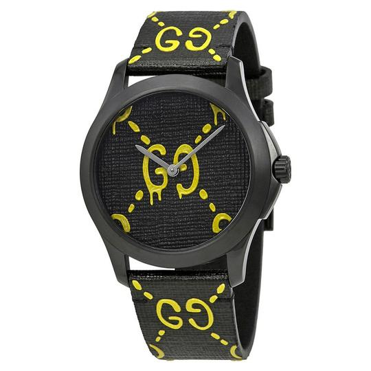 Preload https://img-static.tradesy.com/item/22721018/gucci-black-ghost-g-timeless-yellow-dial-men-s-rubber-watch-0-0-540-540.jpg