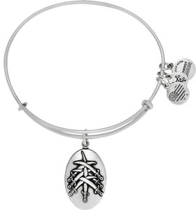 Alex and Ani Alex & Ani Seven Swords III, Rafaelian Silver A16EBSSRS