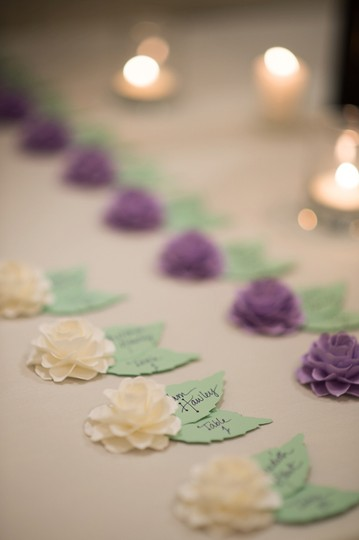 Lilac and White For Lori :) Ceremony Decoration