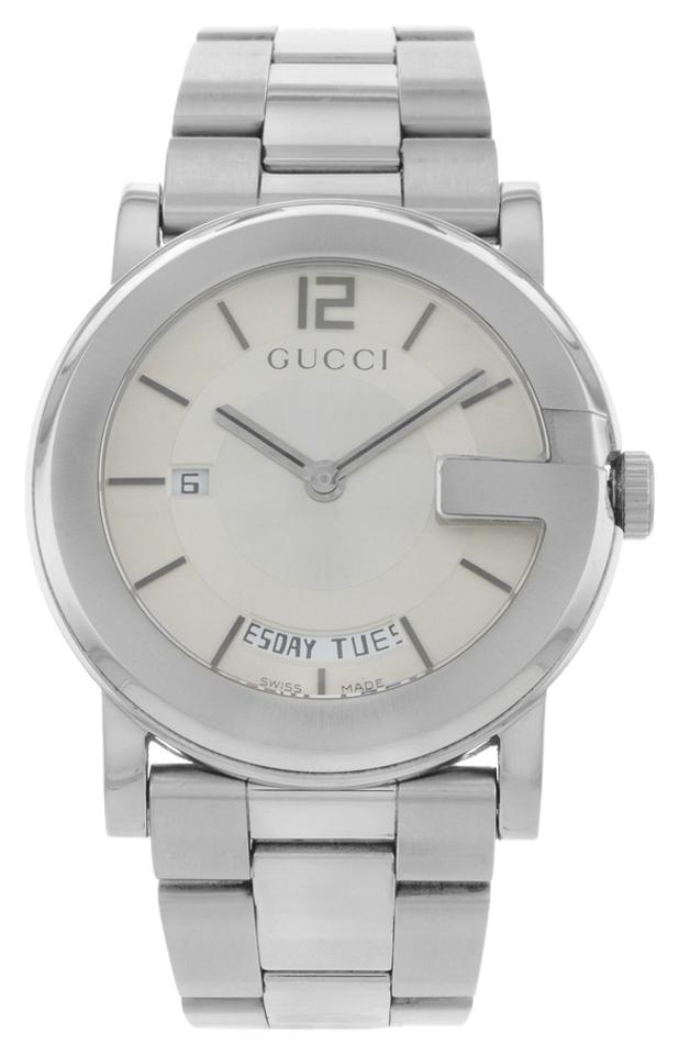 0b10d40c42b Gucci Gucci 101M YA101306 Stainless Steel Quartz Men s Watch Image 0 ...