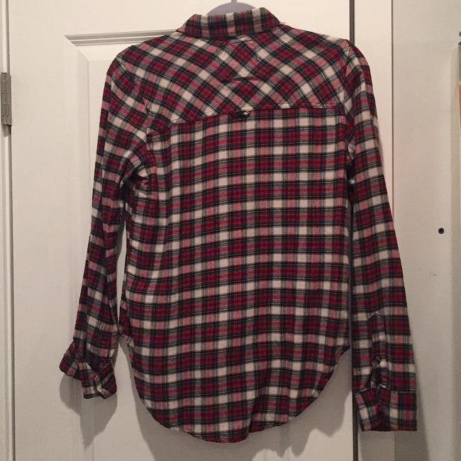 Abercrombie & Fitch Button Down Shirt red Image 1