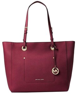 Michael Kors Tote in Mulberry Red