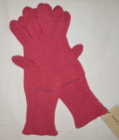 Burberry NEW WITH TAGS BURBERRY CASHMERE BLEND KNIT TOUCH GLOVES Image 1