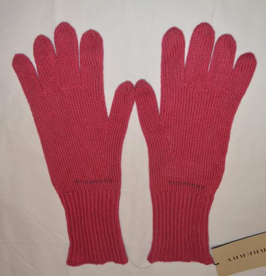 Burberry NEW WITH TAGS BURBERRY CASHMERE BLEND KNIT TOUCH GLOVES Image 3