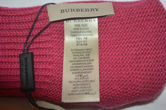 Burberry NEW WITH TAGS BURBERRY CASHMERE BLEND KNIT TOUCH GLOVES Image 5