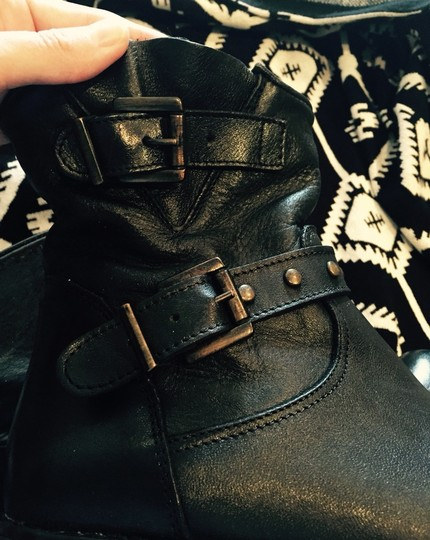 Hassan Black Leather Boots