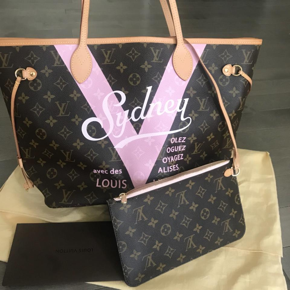 Louis Vuitton Neverfull Monogram Sydney Mm Bag This Is Like New And Sold Out Was Limited Edition Only 200 Lv Canvas Tote Tradesy