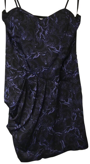 Preload https://img-static.tradesy.com/item/22722810/bcbgeneration-blackpurple-strapless-but-can-be-worn-with-hanger-straps-mid-length-short-casual-dress-0-1-650-650.jpg