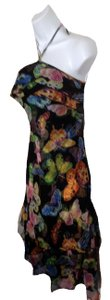 black/multicolor Maxi Dress by Think Tank