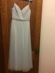 Amsale Ice Tulle Riley; G990u Formal Bridesmaid/Mob Dress Size 4 (S)