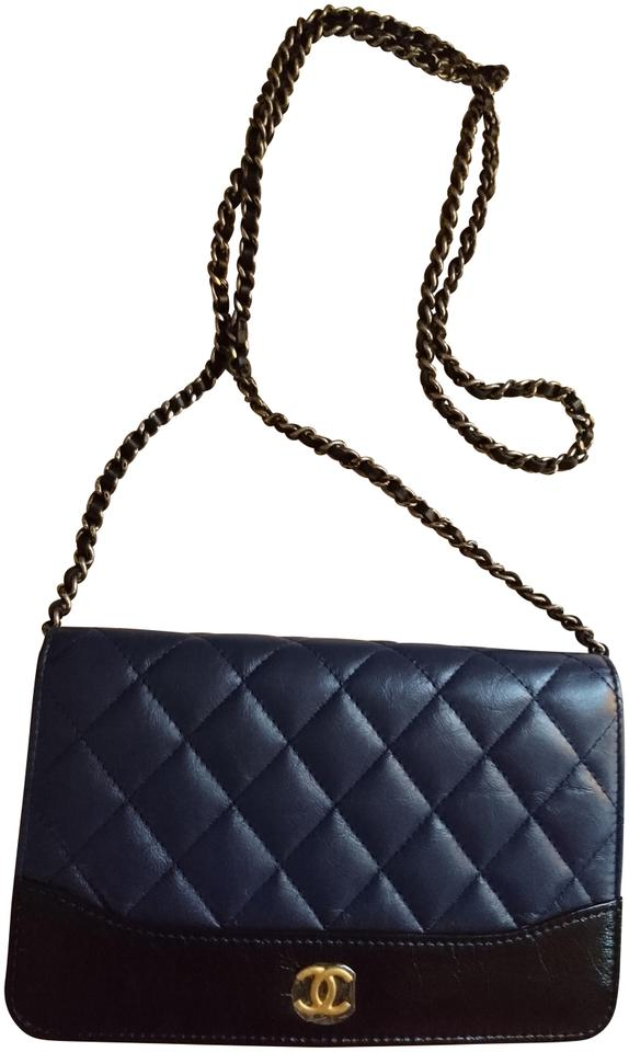 488d6f775b66 Chanel Aged Calfskin Smooth Calfskin Leather Wallet On Chain Cross Body Bag  Image 0 ...