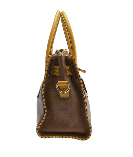 Michael Kors Leather Tote in Brown Image 2