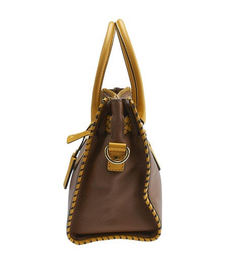 Michael Kors Leather Tote in Brown Image 3