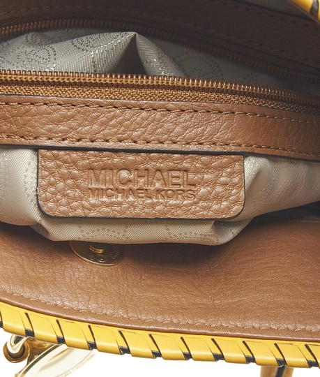 Michael Kors Leather Tote in Brown Image 9