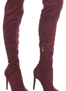 Kendall + Kylie maroon Boots