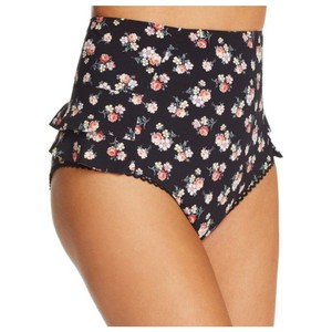 Stella McCartney New with Tags Vintage Floral Ruffle High Rise Bikini Bottoms