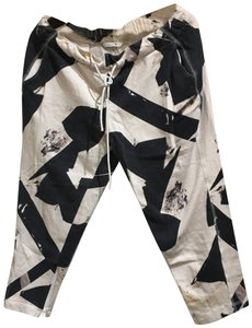 Theory Capris black multi
