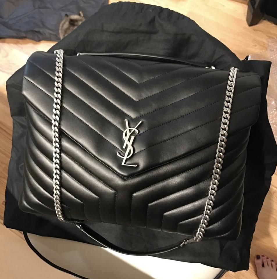 e3b048cedbc Loulou Medium Quilted Leather Backpack - shopittome.com. Saint Laurent's '  ...