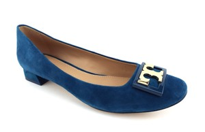 Tory Burch Symphony Blue Pumps