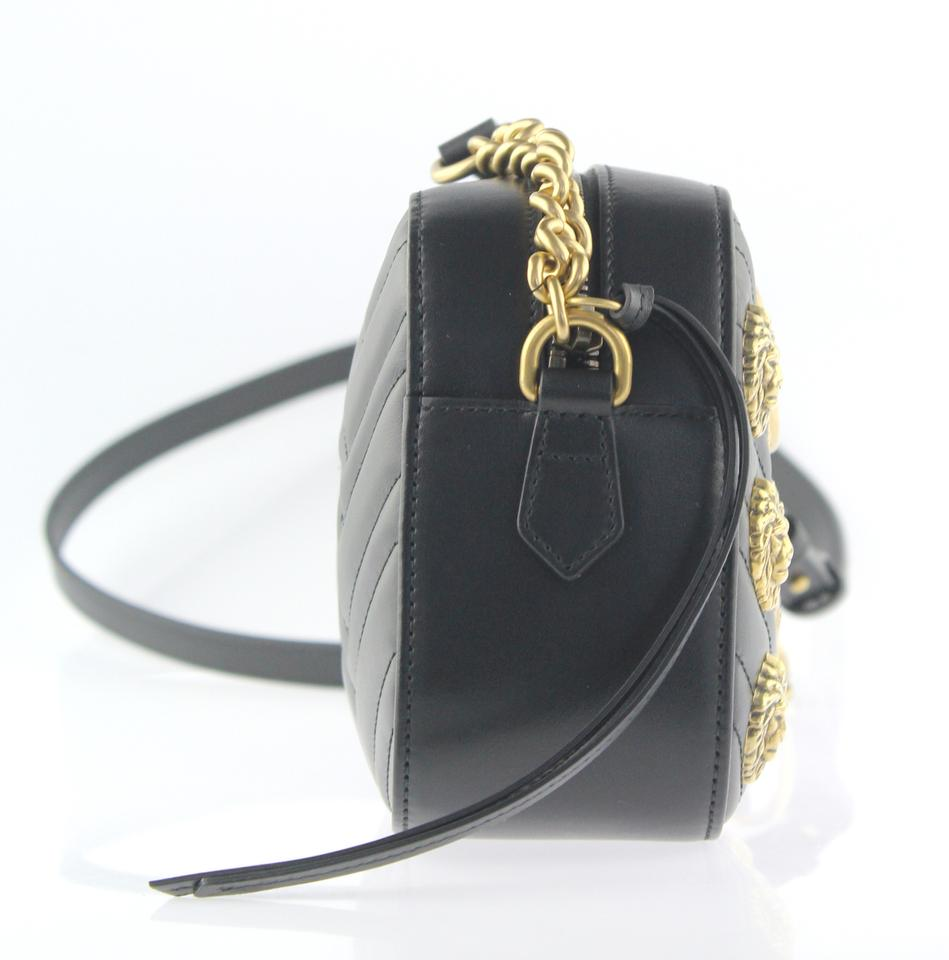 a6abd729d304 Gucci Marmont Animal Studs Cross Body Bag Image 11. 123456789101112