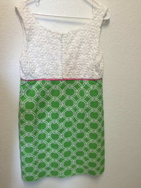 Lilly Pulitzer Eyelet Floral Chain Design Dress