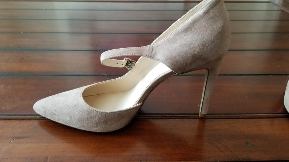 c03a5819f4fc Nine West Nude Zeezee Suede Pumps Size US 9 Regular (M