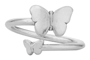 Alex and Ani Alex and Ani Butterfly Ring Wrap A16RW05S Sterling Silver