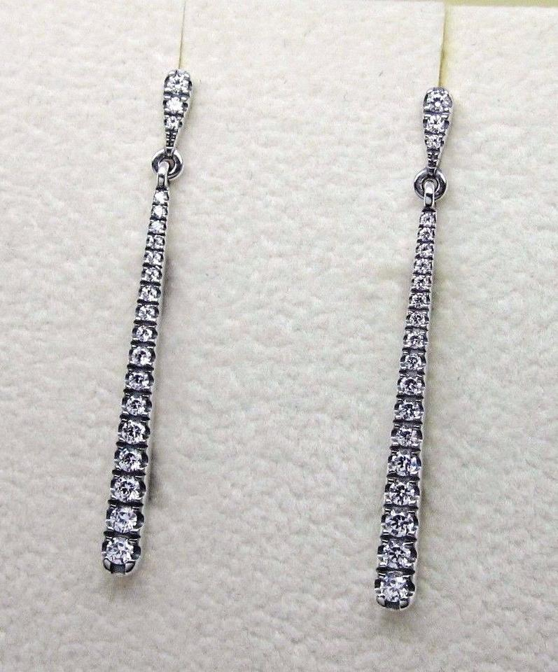 Pandora Authentic Shooting Stars Earring Necklace Set Clear Cz296351cz Image 9 12345678910
