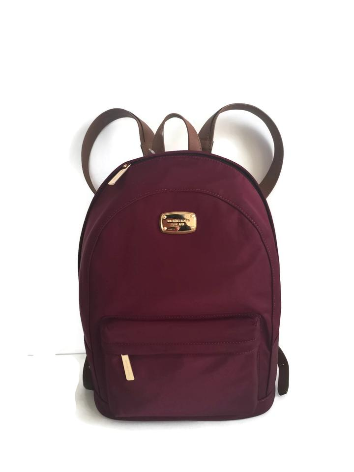 b7d3c6900148 Michael Kors Jet Set Large Tote - Plum Nylon Backpack - Tradesy