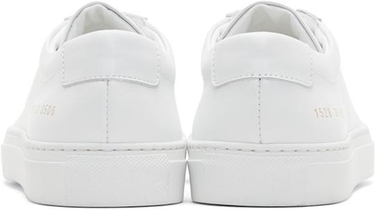 Common Projects Sneakers Archilles Sneakers White Athletic Image 1
